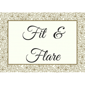 Fit & Flare Brudekjoler